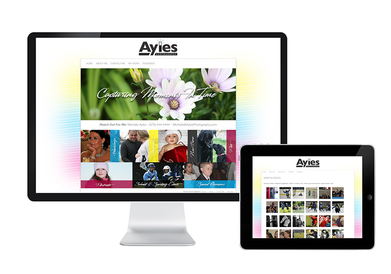 Ayles Photography Website