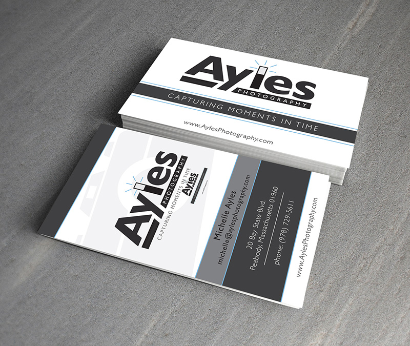 Ayles Photography Business Card